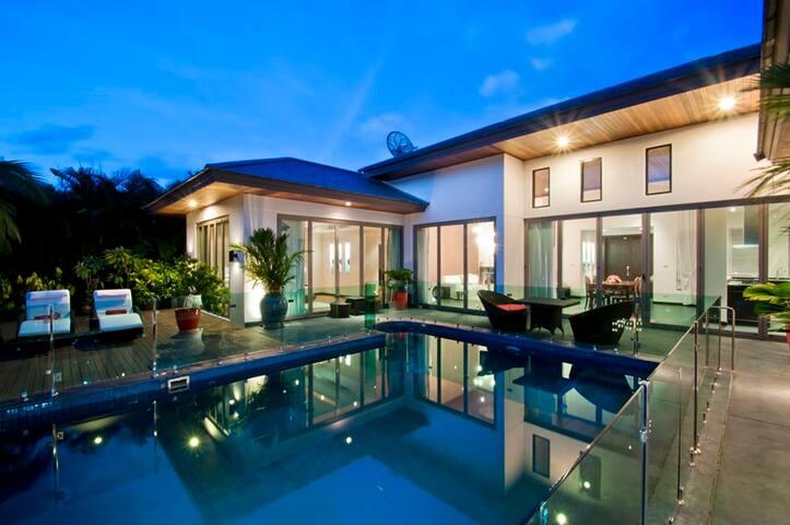 THPIPH406 Three Bdr villa with private pool - Phuket - Casa de campo