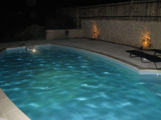 MAISON BLEUE with Fabulous Pool area