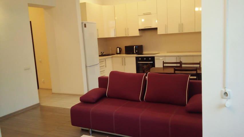 Cozy apartment in the center (Olimpic stadium)