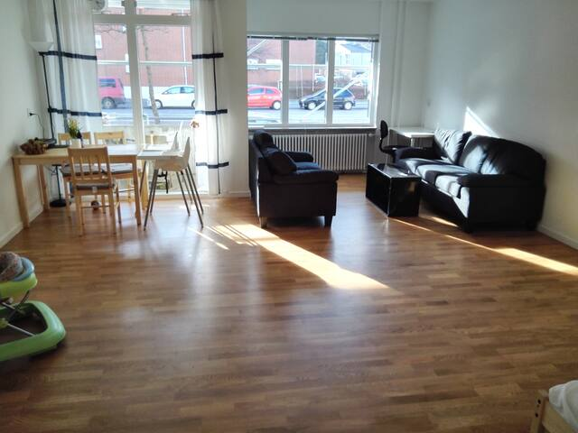 Convenient and large room in Copenhagen - Copenhague - Apartamento
