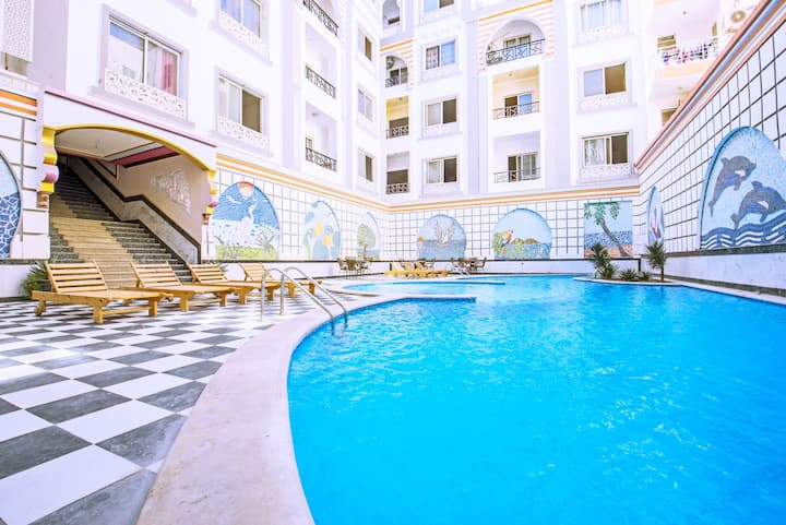 Marina Hotspot ★ Balcony ★ Fast WIFI ★ SatelliteTV