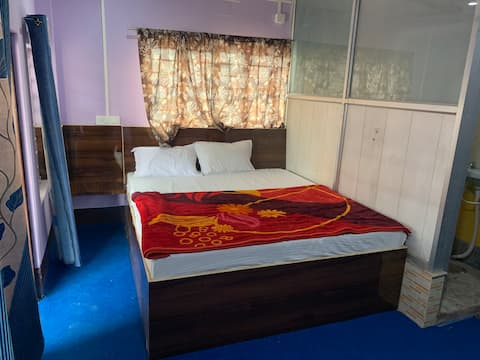 Private bedroom with Kitchen, AC balcony & Parking