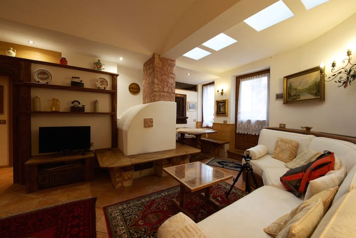 Ronco House, warm and cosy nest - Cortina d'Ampezzo - Apartment