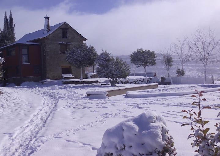 ✤ BORDA DE FADRÍN  Casa con desayuno en Pirineo