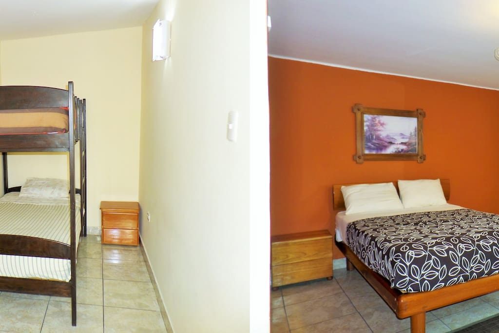 Habitacion cuadruple bed breakfasts for rent in for Habitacion cuadruple