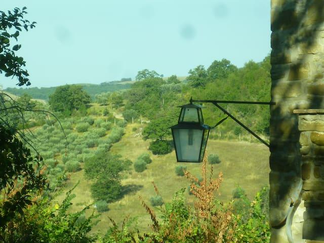 Casa con piscina nel Parco del Subasio, Assisi - Assisi - Haus