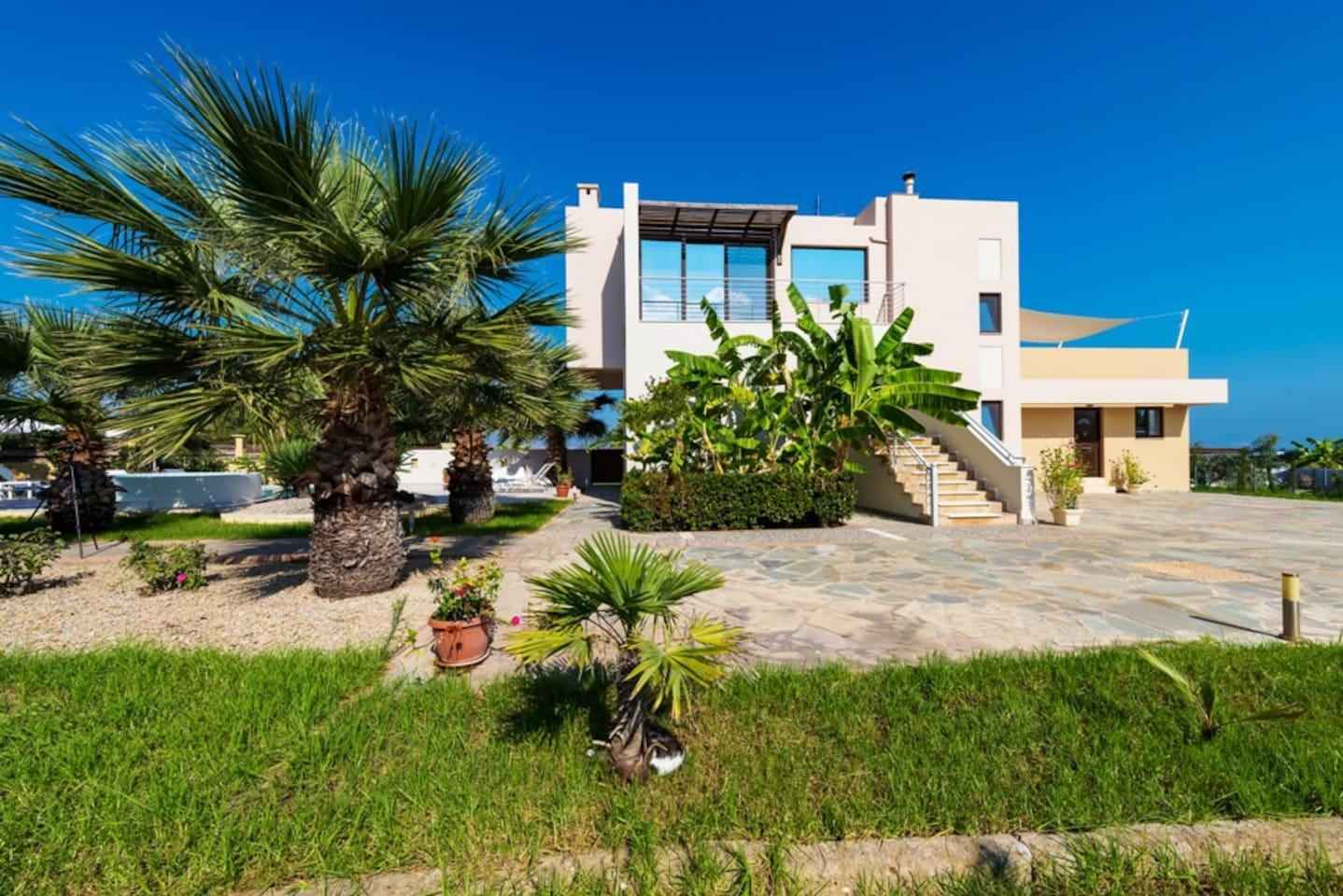 luxury xenos villa2 with pool - villen zur miete in kos, Badezimmer ideen