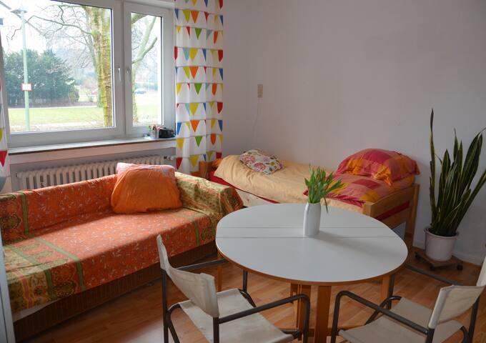 Helles und freundliches Zimmer am Park - Bielefeld - Wohnung