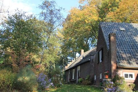 Historisch landgoed natuurhuisje 4p