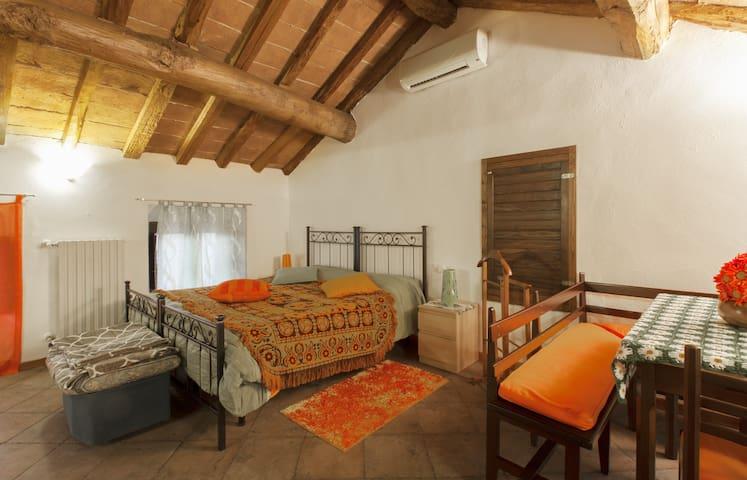 Accogliente mansarda - Torrazza - Apartamento