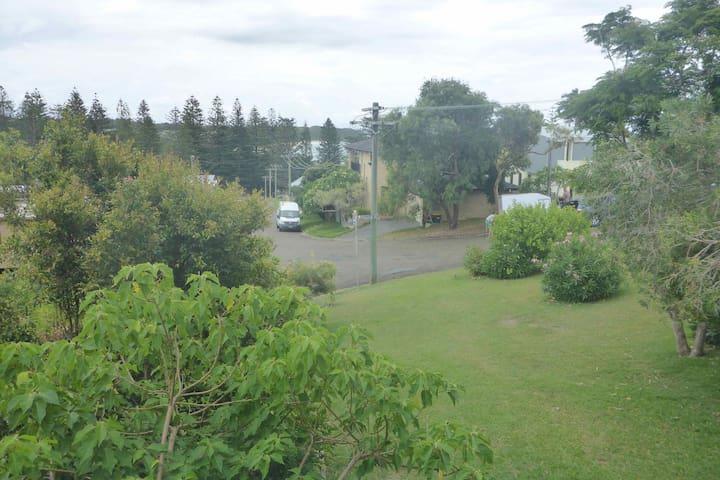 Front garden from verandah