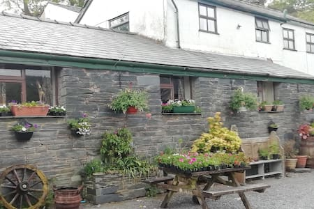 Swn y Gwynt a large farm house in rural location