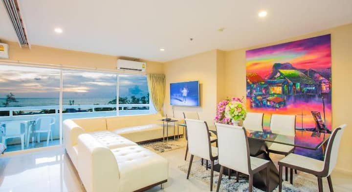 patong sea view condo 3bdr good price