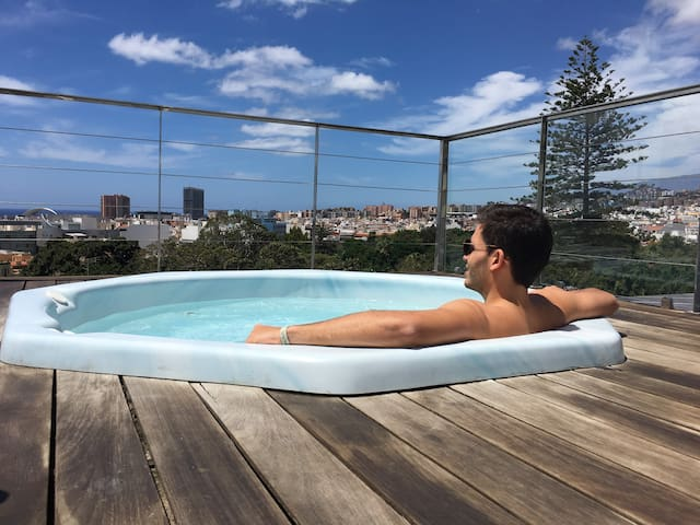 Heart of the city +pool + wifi - Santa Cruz de Tenerife - Lakás