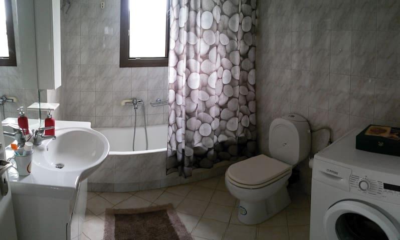 Bathroom with a bathtub