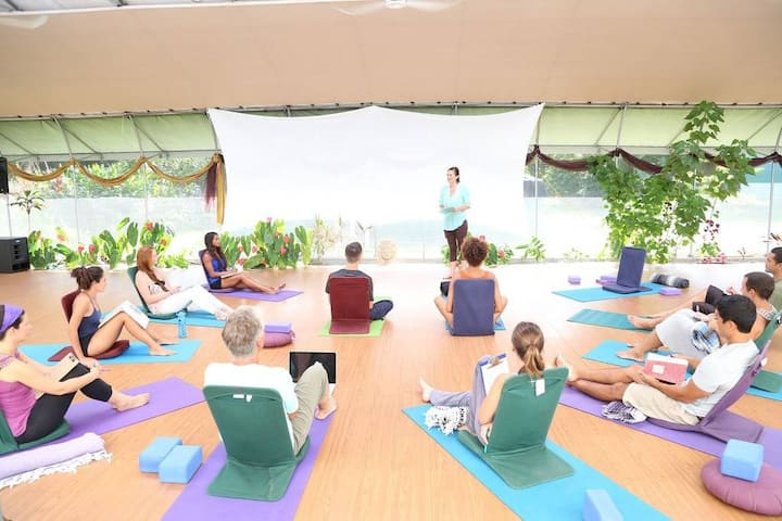 Plumeria · Hawaiian Sanctuary: Spa, yoga & chocolate center P