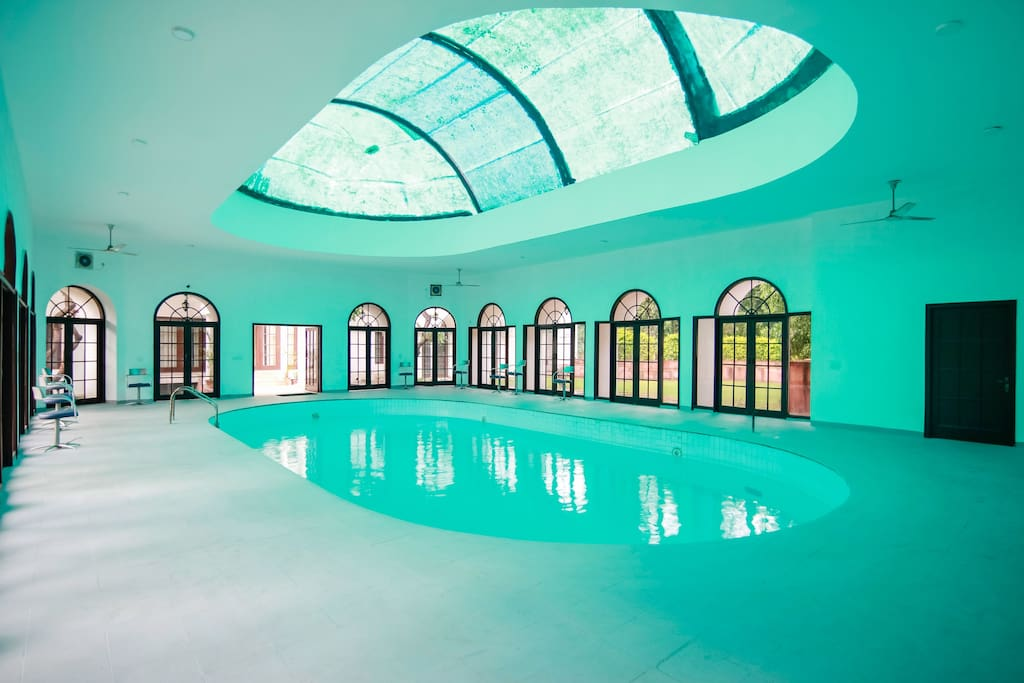 Our Indoor Swimming Pool