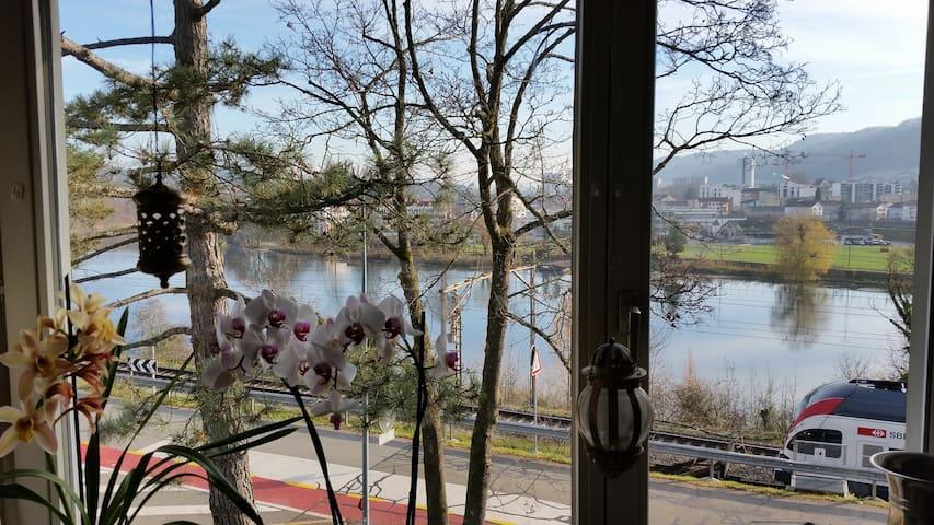 Biedermeier Bett sucht Besucher - Wettingen - Huoneisto