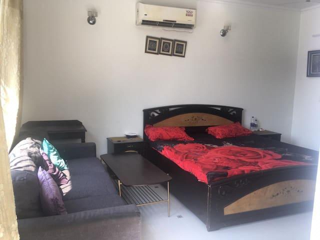 One bed studio Vasant Kunj