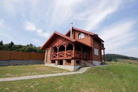 Гостинний маєток зі ставком