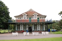 The other excellent cafe in Preston Park: great for teas, coffees and hot and cold snacks!