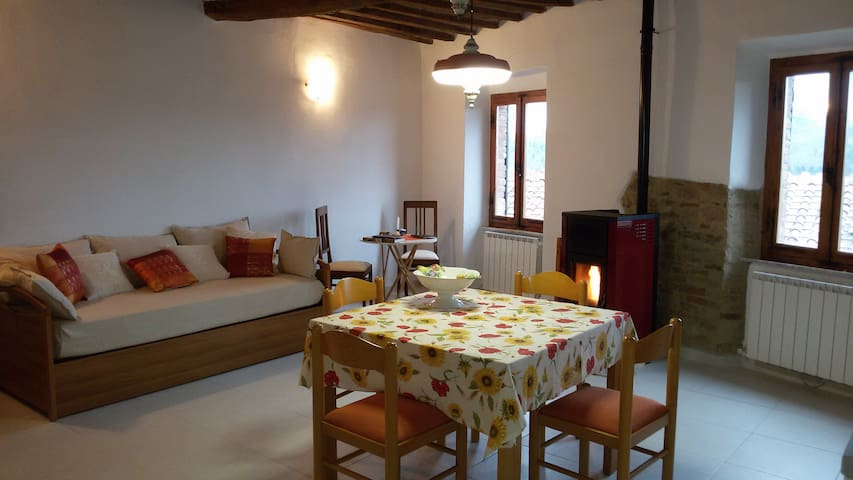 """Appartamento """"Artemisia"""" in stile rustico toscano - Monticiano"""