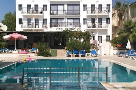 North Cemre Boutıque Hotel & Beach - Bodrum - Gästesuite