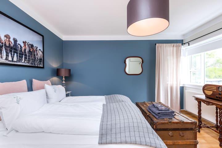 Queen Room in the heart of Reykjavik