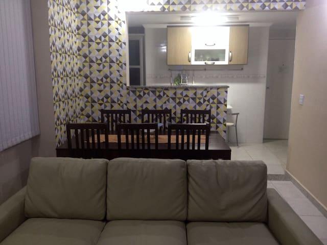 Guarujá 3 dormitórios - conforto em Pitangueiras
