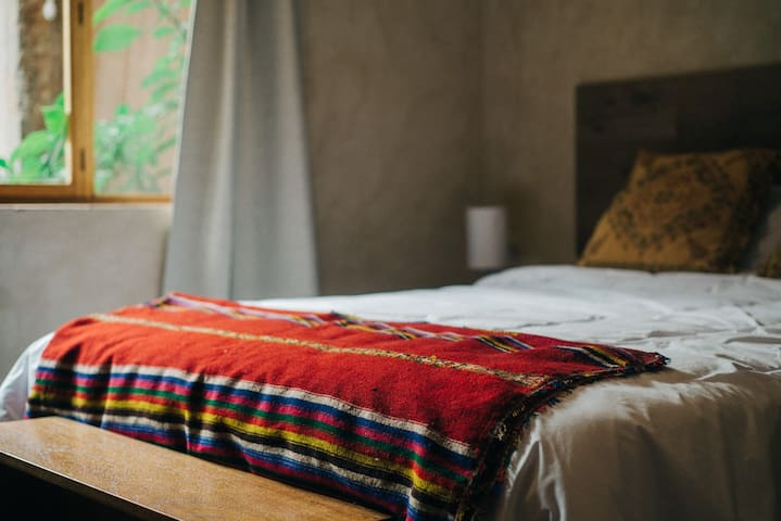 Cozy stylish queen room in AWA Lodge Sacred Valley