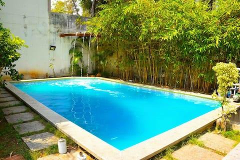 EBR@ECR,Chennai Beachside Villa with Swimming Pool