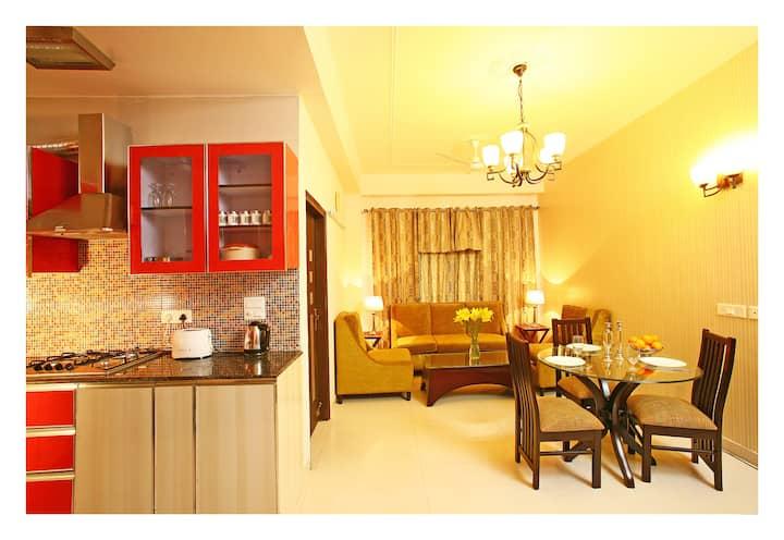 2 BHK Evergreen Apartment Vasant Kunj Near Fortis