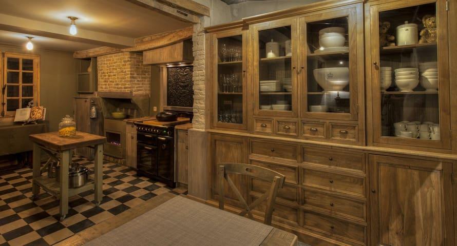 De Reiskoffer gezellige woning , cottage stijl