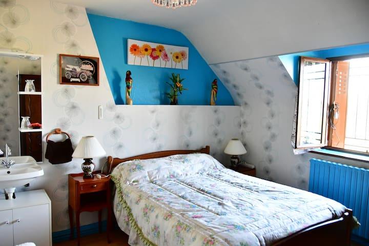 Chambre en bord de Loire - Chaumont-sur-Loire - Apartamento