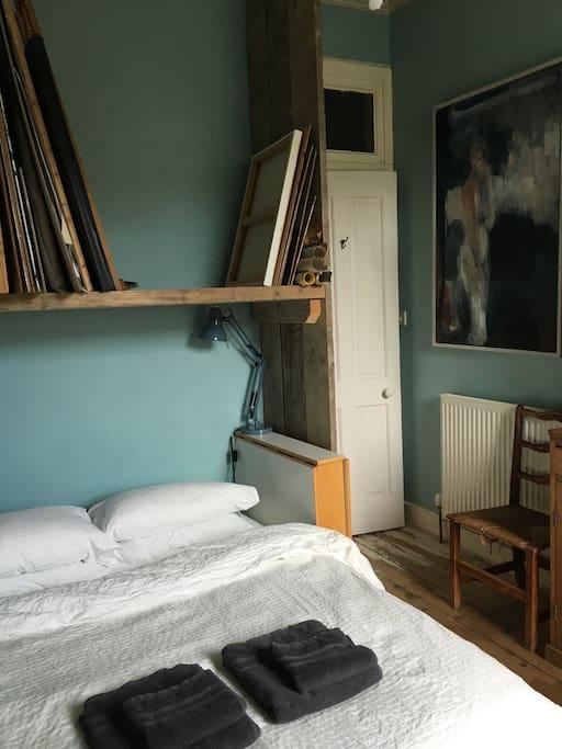 Art studio bedroom