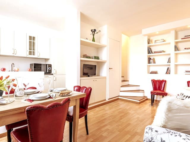 Townhouse Residence Linate-Parking included-Wi-Fi