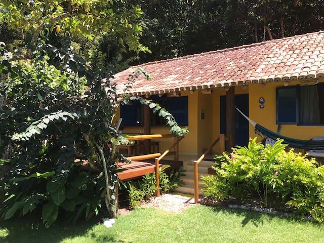 Casa na Praia do Espelho (2 ) Bahia Pé na Areia - Porto Seguro - Huis