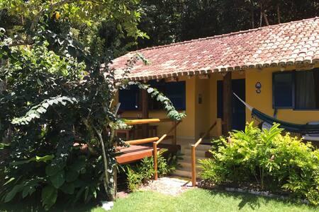 Casa na Praia do Espelho (2 ) Bahia Pé na Areia - 波尔图塞古罗 - 独立屋