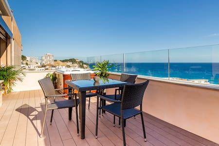 Fantastic sea-view penthouse with Jacuzzi !!!! - Palma