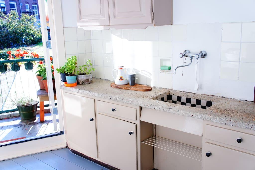 Keuken door ontwerper Piet Zwart