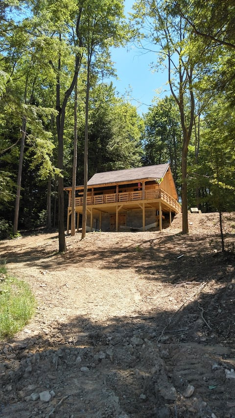 "Boyer Farm Rentals. "" The Cabin  on the Hill"""