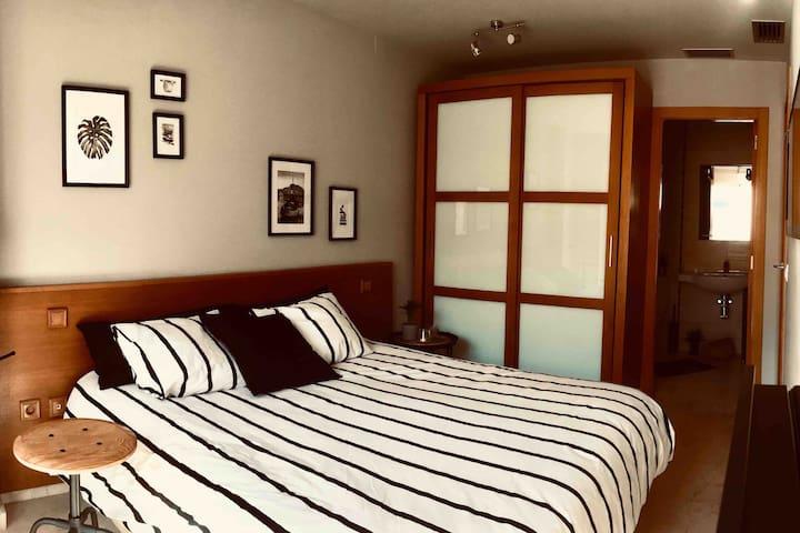 """Acogedora habitación a 15' del Centro/Playa (B&B)"""""""