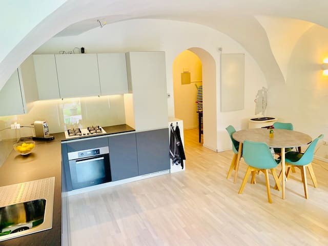 New renovated flat with an amazing garden