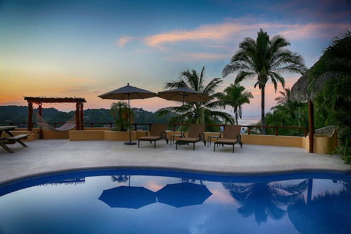 Ocean View House with Pool  - Sayulita