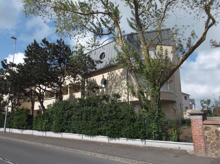 façade  Villa marine 2