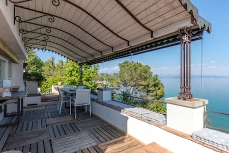 mansarda in villa sul lago - Appartement