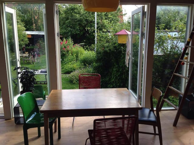 Unique handbuild garden house - close to city