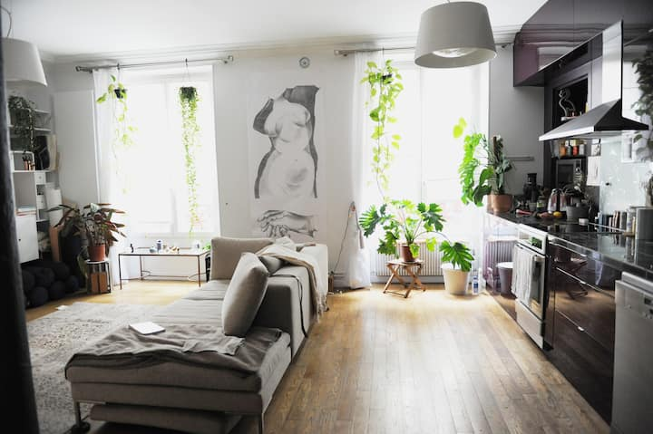 Oasis Artist Luxury loft in heart of Paris