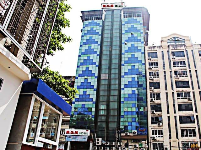Twin Room at MGM Hotel Yangon