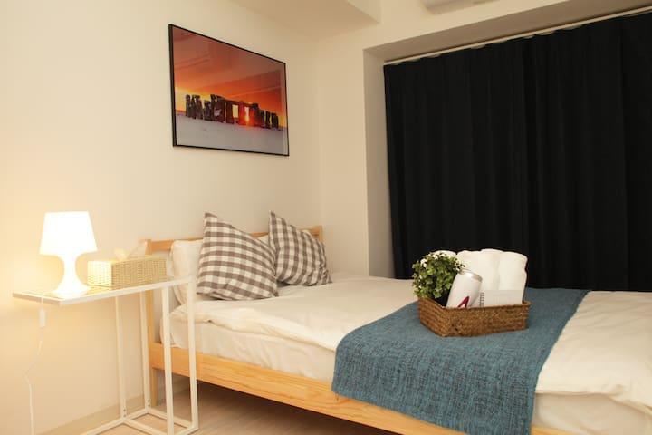 Universal Hotel Gloire Room 205 1station from USJ!